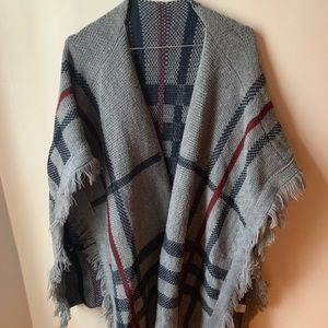 Stripped Poncho